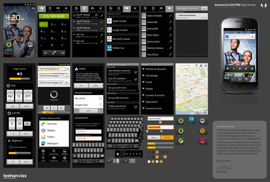 android ui kit 2, 3 free