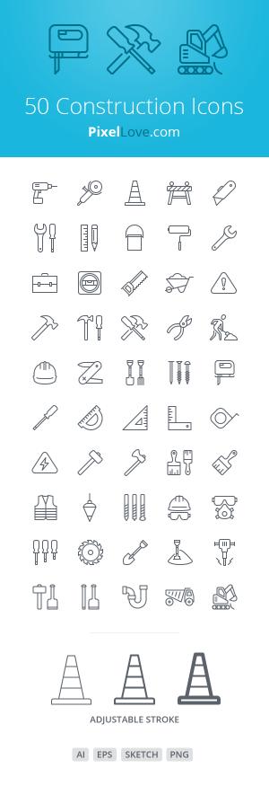 иконки, строительство, строительные, отделочники, сайт, приложение, скачать