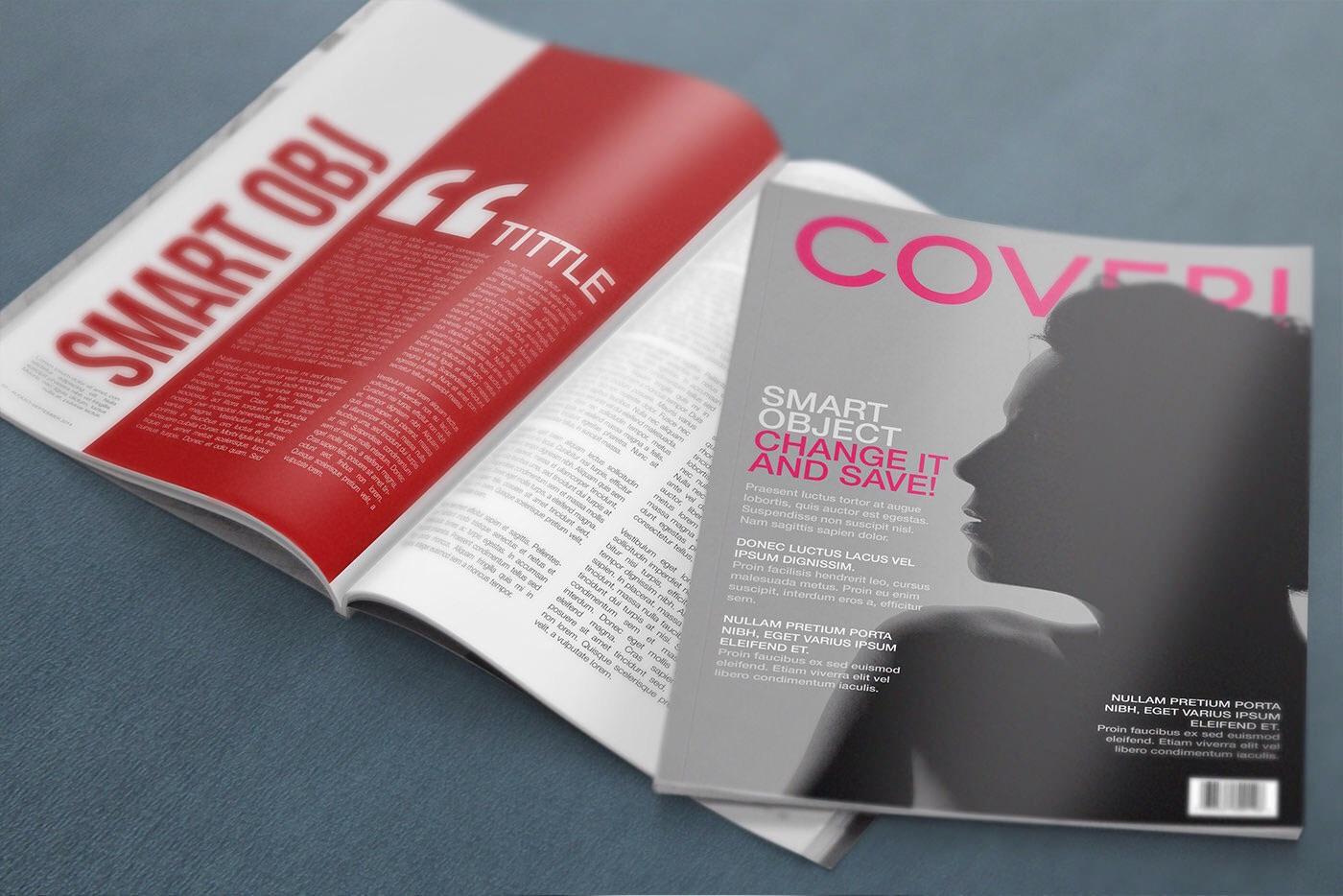 4k mock up magazine free psd download