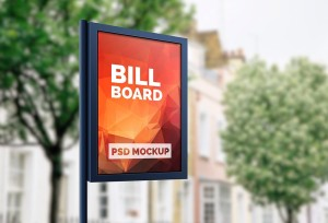 billboard mock up free psd