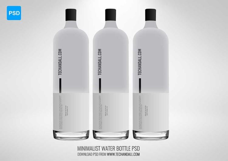 original vodka bottle mock up free