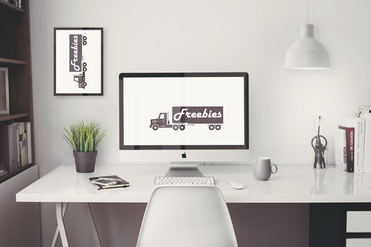 iMac ultra high resolution mockup free
