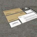 branding stationery mockup free psd