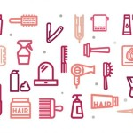 hair saln icons free all formats