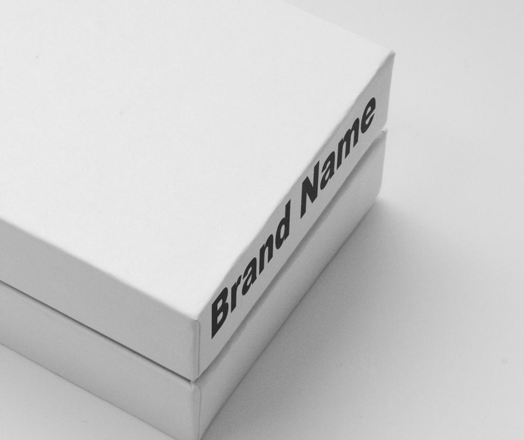 cardboard box mockup free