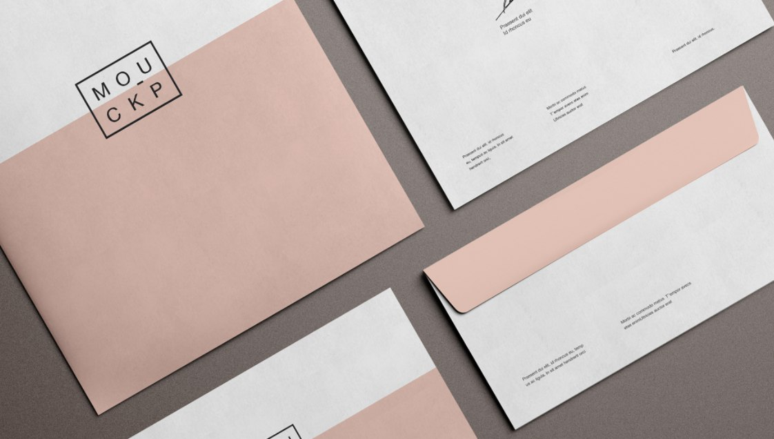 mockup branding free stationery download