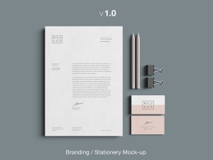 branding stationery mock up free