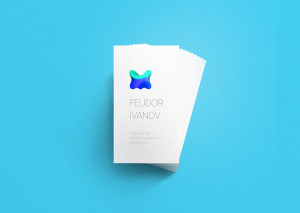 free mock up business card