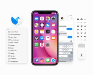iOS 11 free UI template