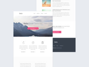 free-email template psd