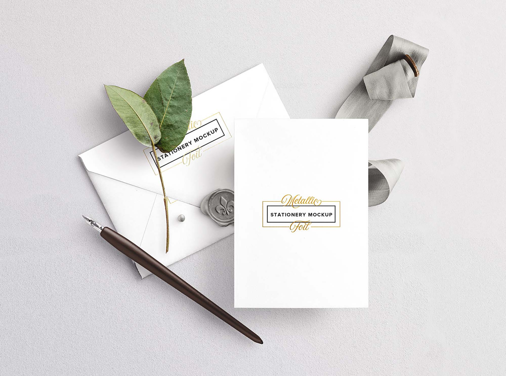wedding invitation free mockup