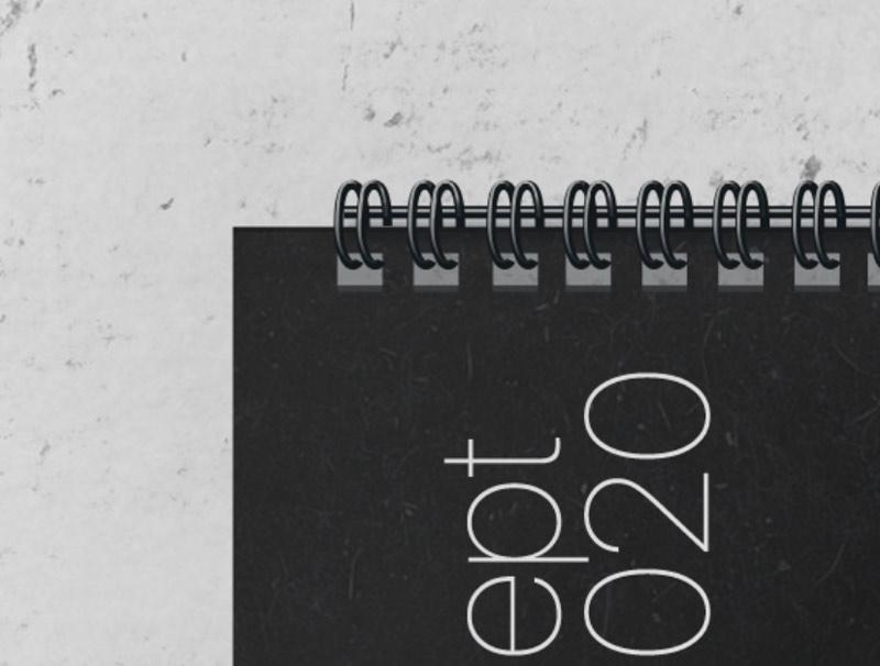 calendar 2020 template mockup free