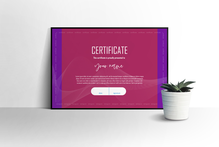 Certificate of Appreciation, Multipurpose Certificate, Printable Certificate