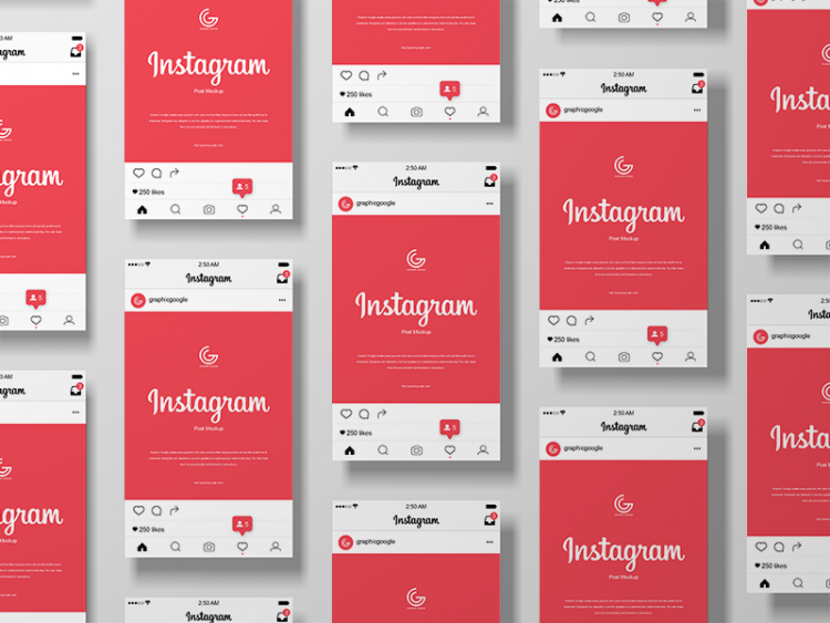 instagram mockup free