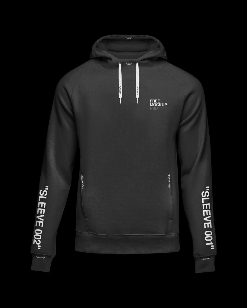 hoodie free mockup psd clothes download