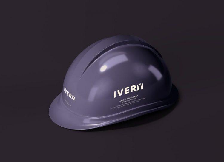 Construction Helmet Mockup free psd